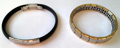 Bracelets magnétiques et à base de germanium