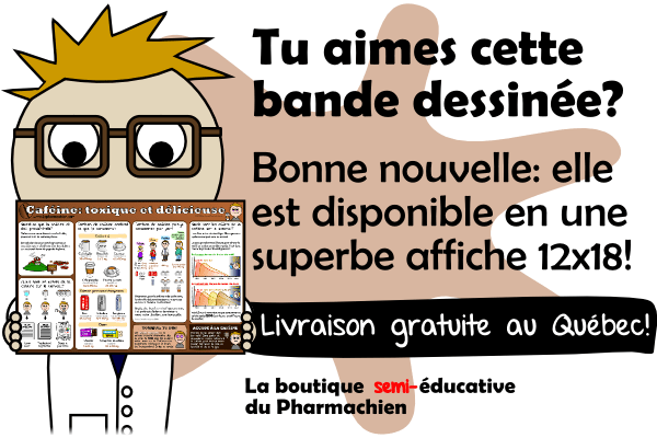 poster cafeine annonce