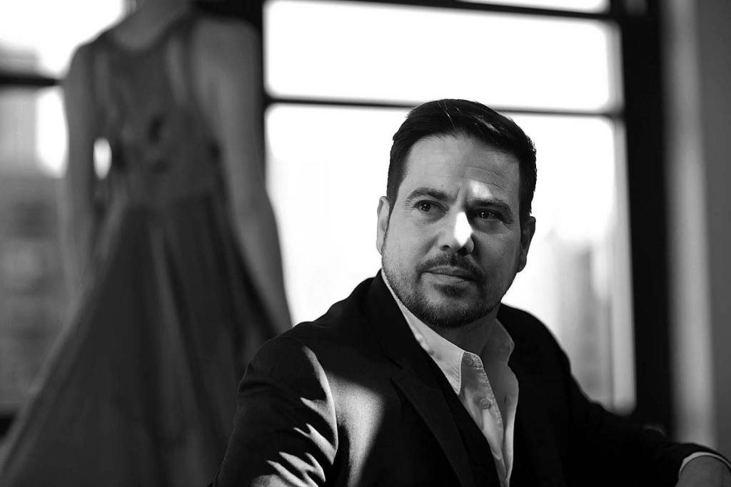 Narciso Rodriguez at his studio in New York.