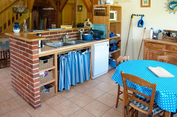 cuisine gîte les bruyères carré moyaux calvados normandie