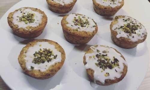 Muffin citron pistache
