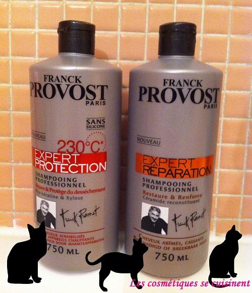 Franck Provost : accro au shampoing expert réparation