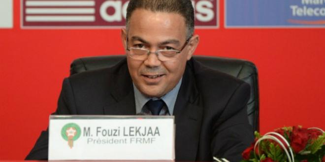 Faouzi Lakjaa, président de la FRMF