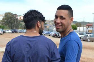 Anouar Damani et son conjoint marocain. ©Eldiario.es