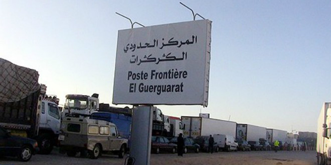 Sahara: Que font les milices du Polisario à El Guergarate?