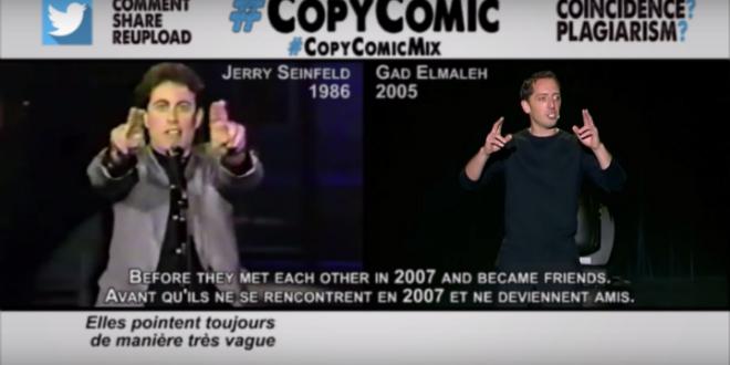 Jamel Debbouze et Gad Elmaleh accusés de plagiat