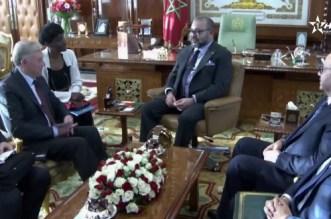 VIDEO- Horst Köhler reçu par le roi Mohammed VI