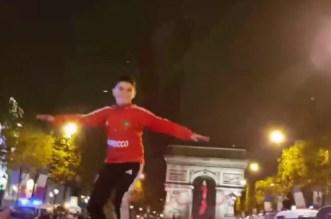 Regardez la joie des Marocains sur les Champs Elysées (VIDEO)