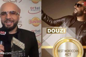 Douzi remporte le prix du meilleur artiste marocain à Hambourg (VIDEO)