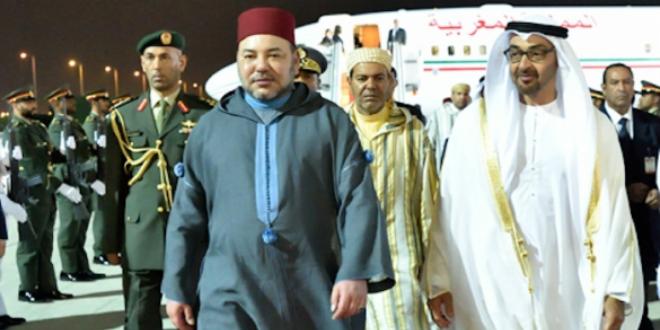 Le Roi Mohammed VI s'entretient avec l'Emir du Qatar — Doha