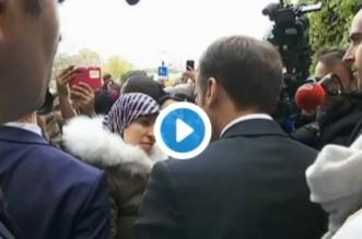 Macron à une Marocaine: «Si vous n'êtes pas en danger au Maroc, retournez-y !» (VIDEO)