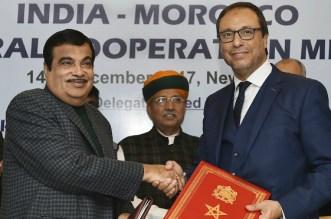 Le Maroc signe un protocole d'accord avec l'Inde (VIDEO)