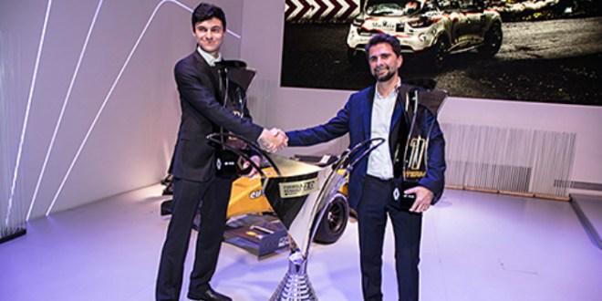 Le Marocain Michael Benyahia sacré champion d'Europe de Formule Renault