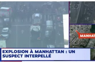 Explosion à Manhattan, un suspect arrêté (VIDEO)