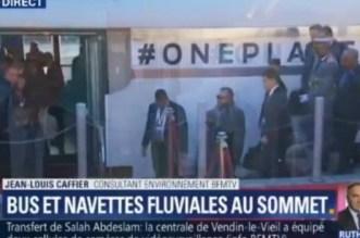 Le roi Mohammed VI se rend à l'île Seguin (VIDEO)