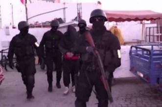 Les images choc du coup de filet antiterroriste au Maroc