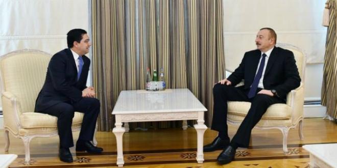 Nasser Bourita reçu par le président Aliyev — Maroc- Azerbaïdjan