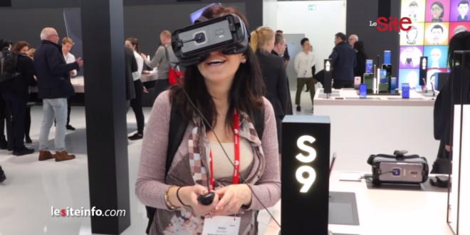 Mobile World Congress 2018: découvrez l'univers de Samsung (vidéo)