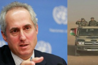 L'ONU reconnait les agissements du polisario (VIDEO)
