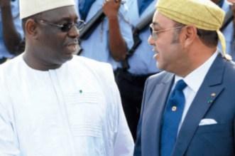 Mohammed VI reçoit un message de Macky Sall