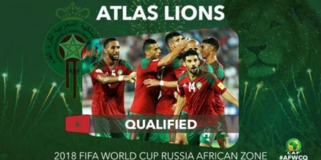 Lions de l'Atlas: le classement FIFA du mois de mai