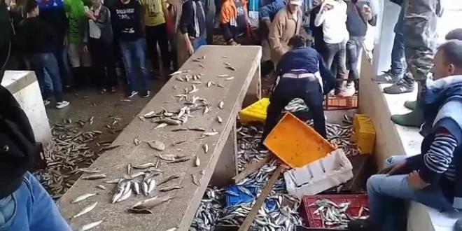 Tétouan: attaque contre des poissonniers, la gendarmerie intervient (VIDEO)