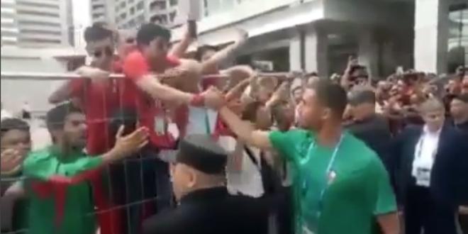 Mondial 2018: Bouhaddouz a remercié les supporters Marocains (VIDEO)