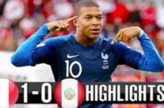 Mondial 2018: la France qualifiée pour le second tour