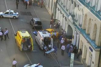 Un taxi fauche des passants à Moscou, plusieurs blessés