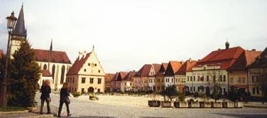 Bardejov square