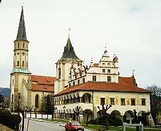 Buildings in Levoca town square