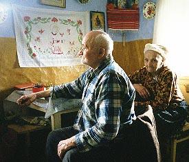 Wise old man in Torysky
