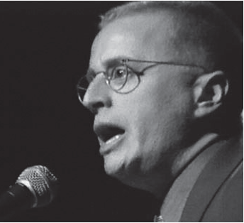 Feinberg speaks in support of Mumia Abu-Jamal Town Hall, New York City, 1999