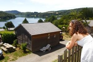 Rives du Lac du Laouzas pour vos vacances dans le Tarn, Midi-Pyrénées