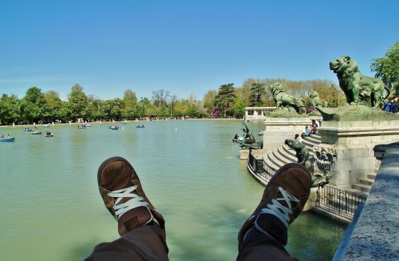 Parque retiro madrid