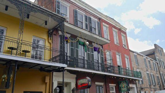 façades colorés nouvelle orleans