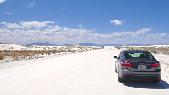 road trip white sands national monument