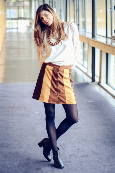 Earth tone outfit