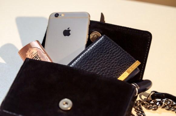 A stylish little wish come true - Wallet in purse