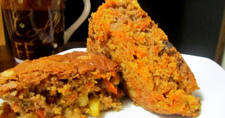 DELICIOUS CARROT AND PINEAPPLE CAKE