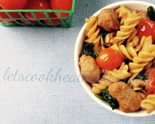 SOY AND SPINACH ROTINI