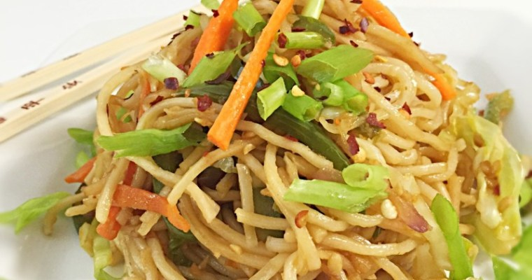 Spicy Burnt Garlic Noodles