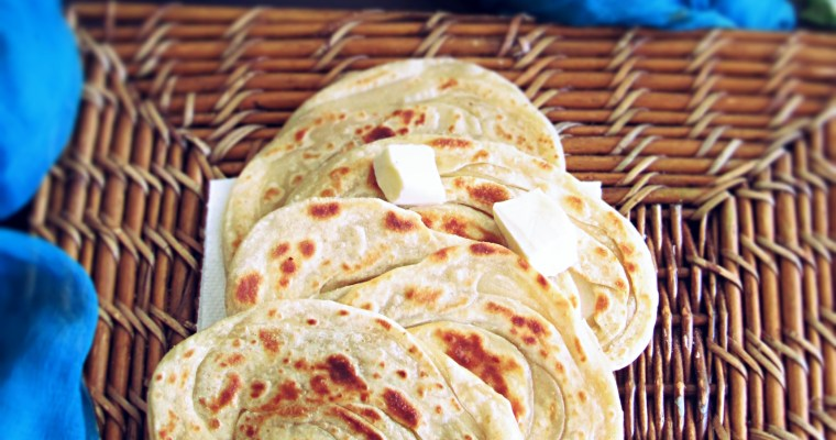 Lachha Paratha|Layered Indian Bread
