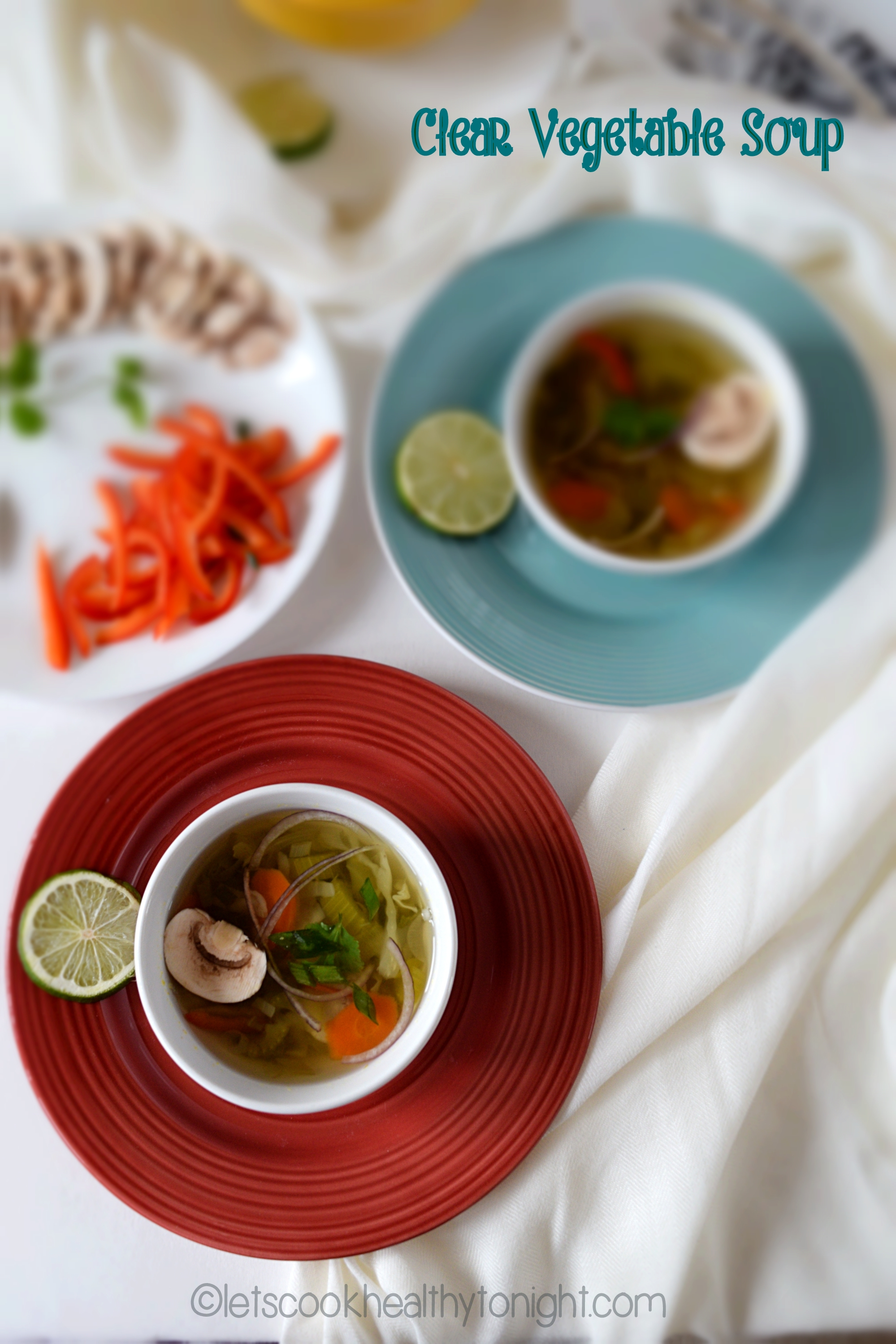 Clear Vegetable Soup