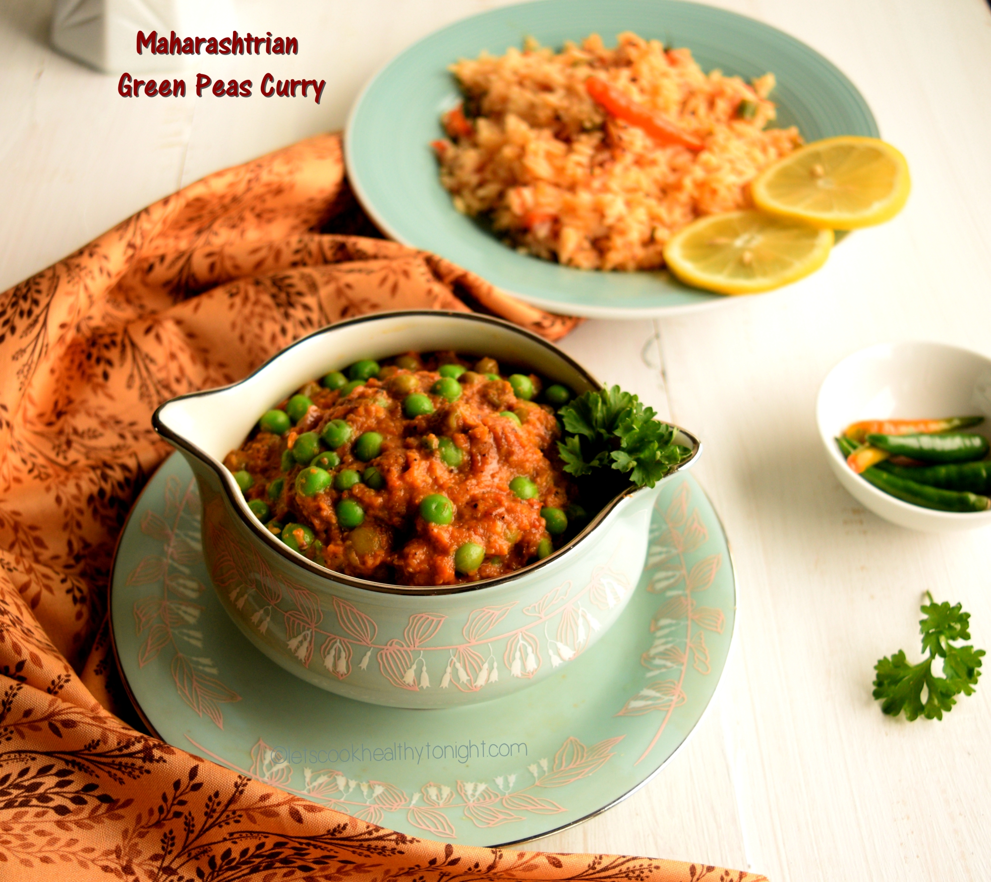 Maharashtrian green peas curry lets cook healthy tonight maharashtrian green peas curry or hirvya vatanyachi amti is one of the main course recipes in maharashtrian cuisine this is very simple and easy to prepare forumfinder Image collections