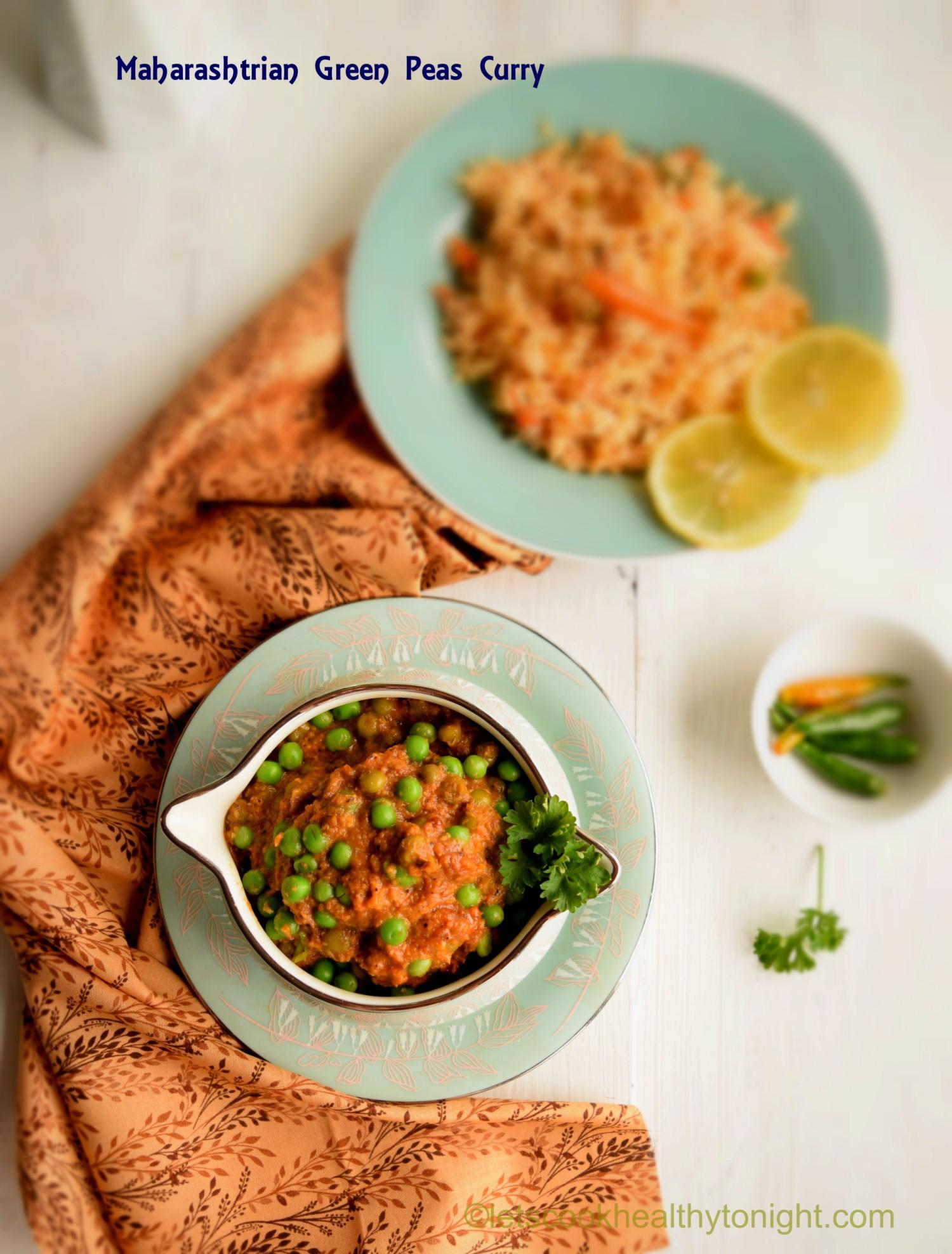 Maharashtrian Green Peas Curry