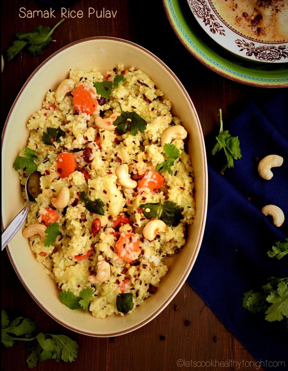 Samak Rice Pulav|Moriyo pulav