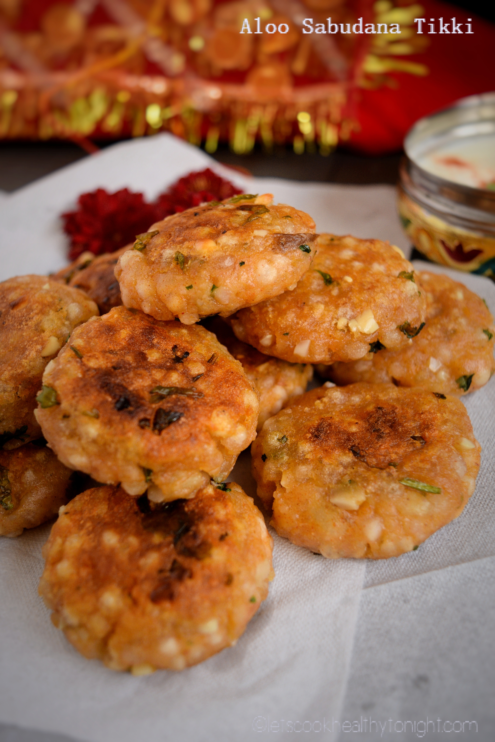 Nine Days of Navratri- Falahari Recipe- Sabudana Aloo Tikki