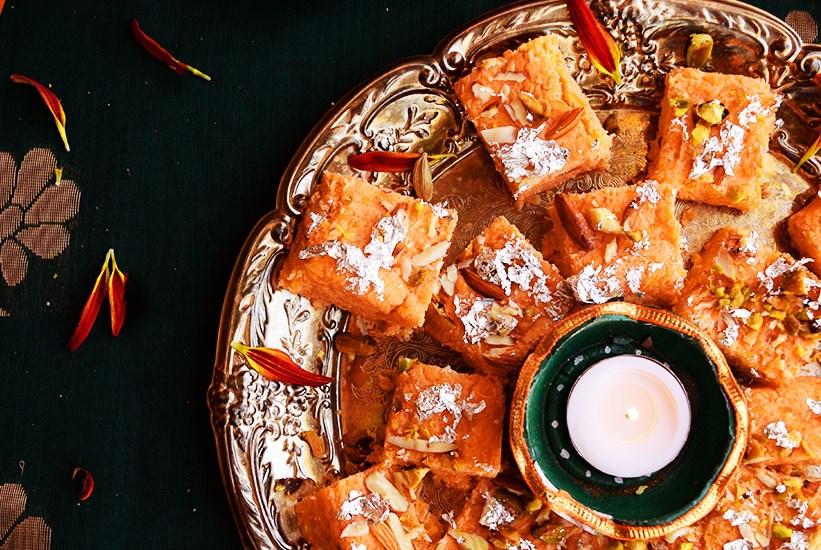 Pumpkin Burfi Diwali Special