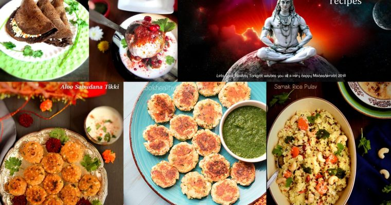 5 Easy Vrat or Fasting recipes to try !